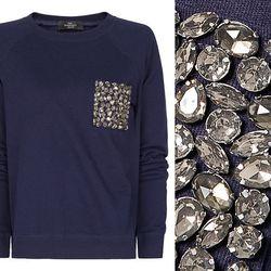 """<b>Mango</b> Crystal Embellished Sweatshirt, <a href=""""http://shop.mango.com/US/p0/mango/new/crystal-embellished-sweatshirt/?id=83298031_N1&n=1&s=nuevo&ie=0&m=&ts=1363836052596"""">$49.99</a>"""