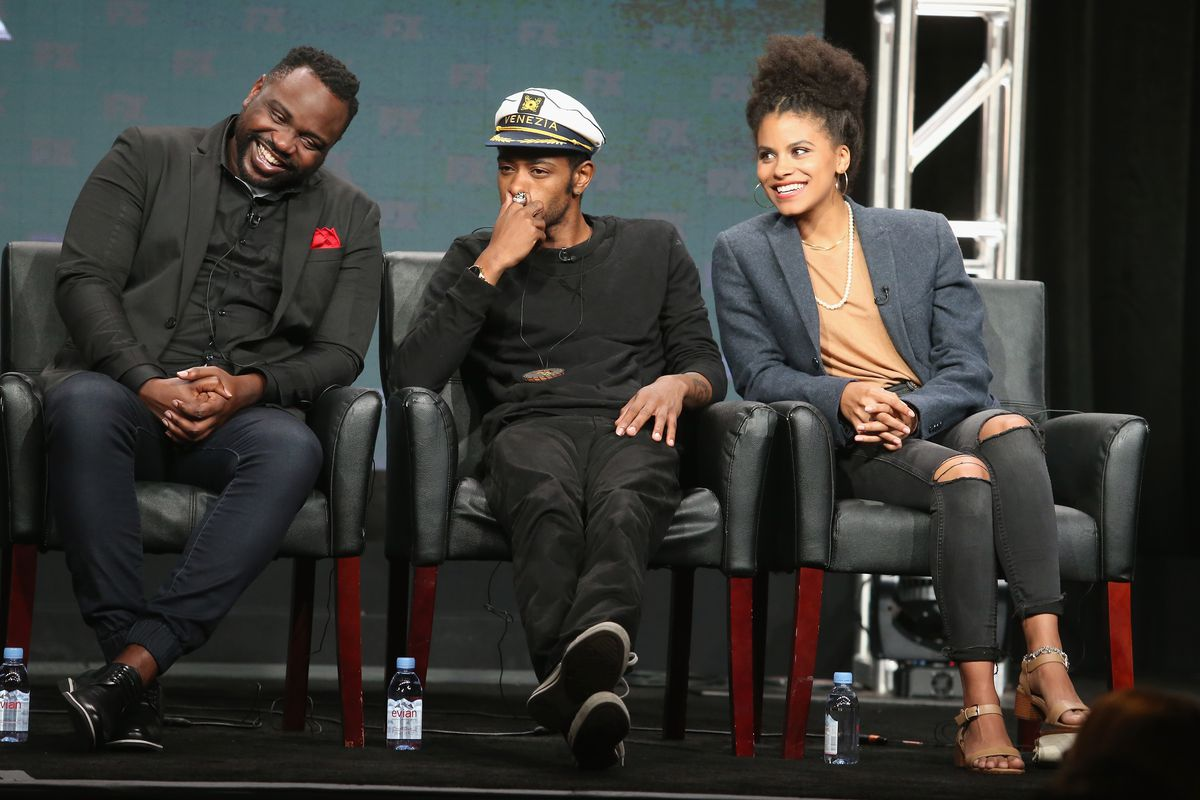 Brian Tyree Henry, Lakeith Stanfield, and Zazie Beetz