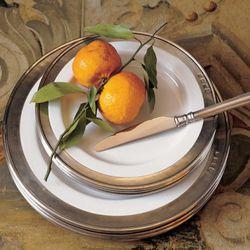 Match Convivio Dinnerware in Pewter, $65-$235