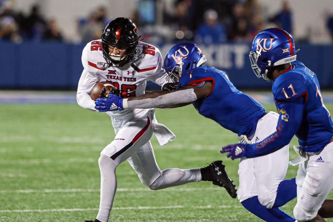 NCAA Football: Texas Tech at Kansas