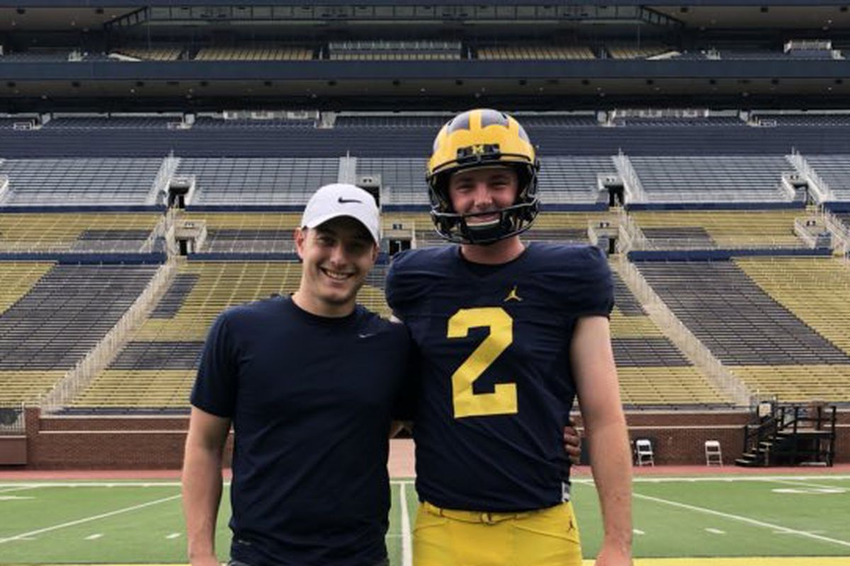 Best Kicker 2019 2019 west coast kicker Ryan Sanborn talks Michigan offer, already
