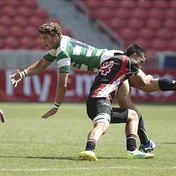 May 19, 2012; Sandy, Utah, USA; Cathedral defeated United 51-0 during the Emirates Airline USA Rugby Boy's High School Club Championship Invitational at Rio Tinto Stadium.
