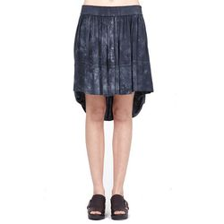 "<b>Raquel Allegra</b> Cloud Wash Drop Hem Skirt, <a href=""http://shopbird.com/product.php?productid=28288&cat=647&manufacturerid=&page=1"">$275</a> at Bird"