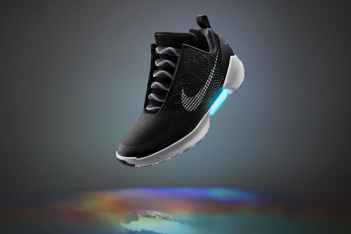 Image result for nike self lacing sneakers