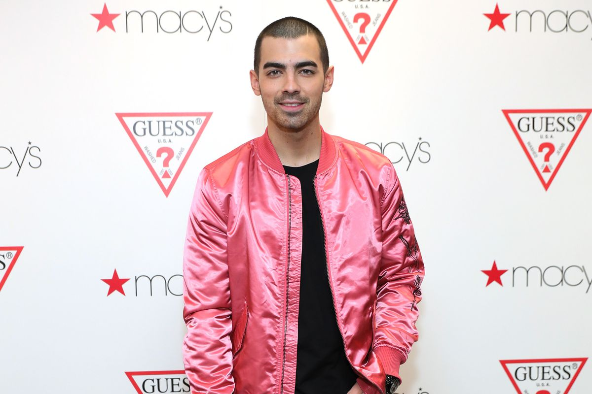 Joe Jonas attends the launch of the new Guess men's underwear line 'Hero' at Macy's Herald Square on March 2, 2017 in New York City.