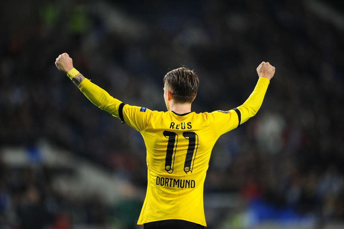 Marco reus makes his 100th appearance for dortmund fear the wall getty imagesgetty images voltagebd Images