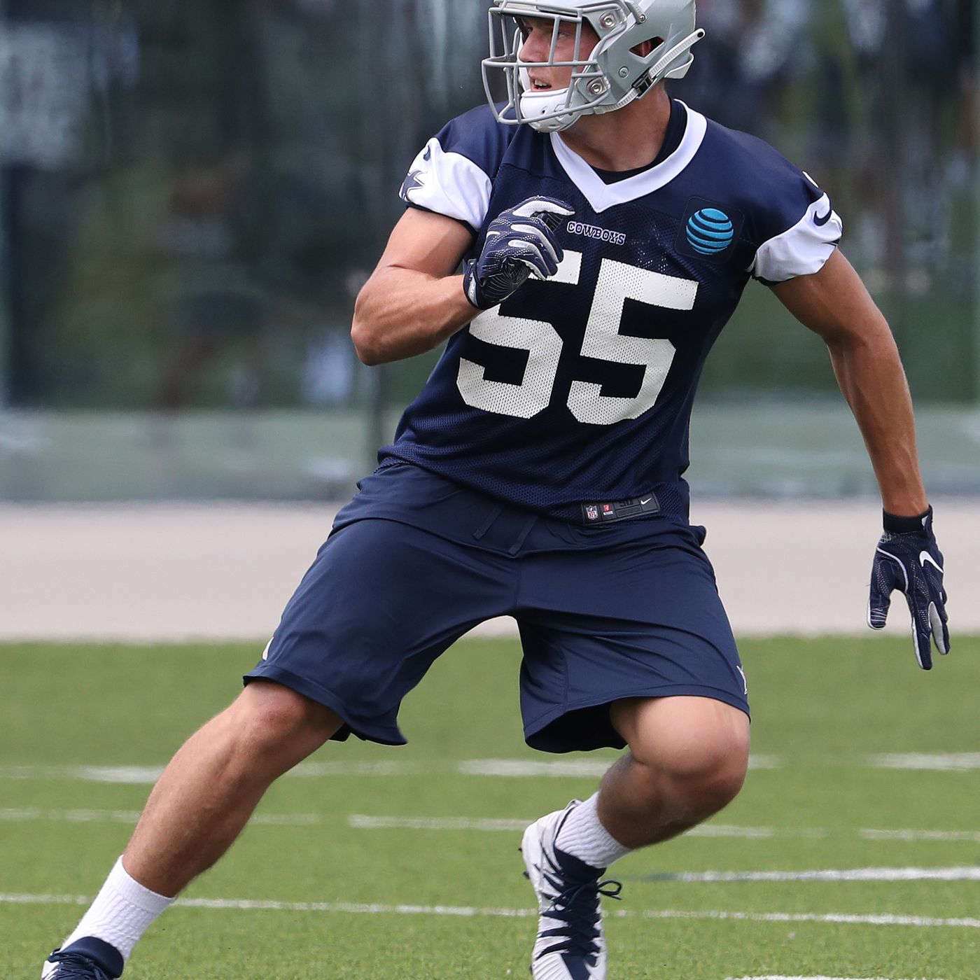 c7db7f0cf4a Cowboys Q&A: Leighton Vander Esch's availability? Who will lead the Cowboys  in catches this season? - Blogging The Boys