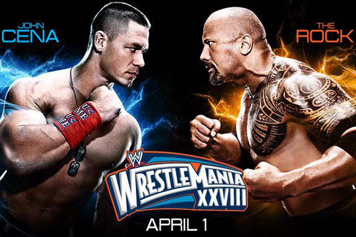 Wrestlemania 28 results and live matches coverage for John Cena vs