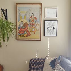 The experience could have felt similar to shopping a pre-styled Ikea bedroom straight from the showroom, but yet was incredibly personalized. For instance, my designer picked out pieces by independent artists from Minted to complement my existing art.
