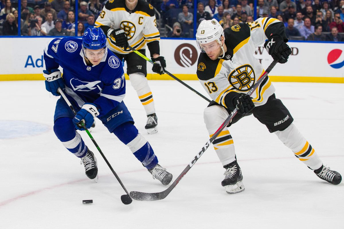 Boston Bruins v Tampa Bay Lightning
