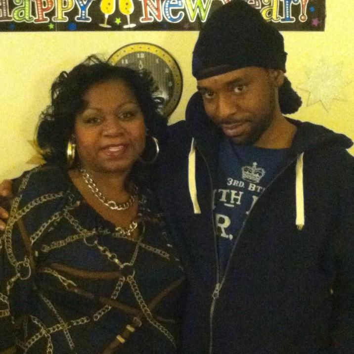 Philando Castile and his mother, Valerie Castile.