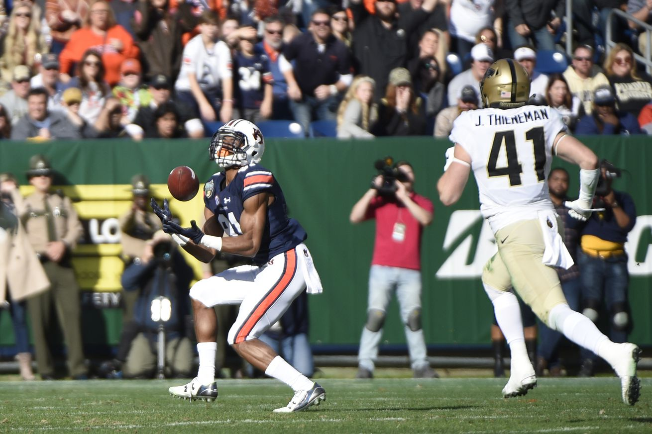 COLLEGE FOOTBALL: DEC 28 Music City Bowl - Purdue v Auburn