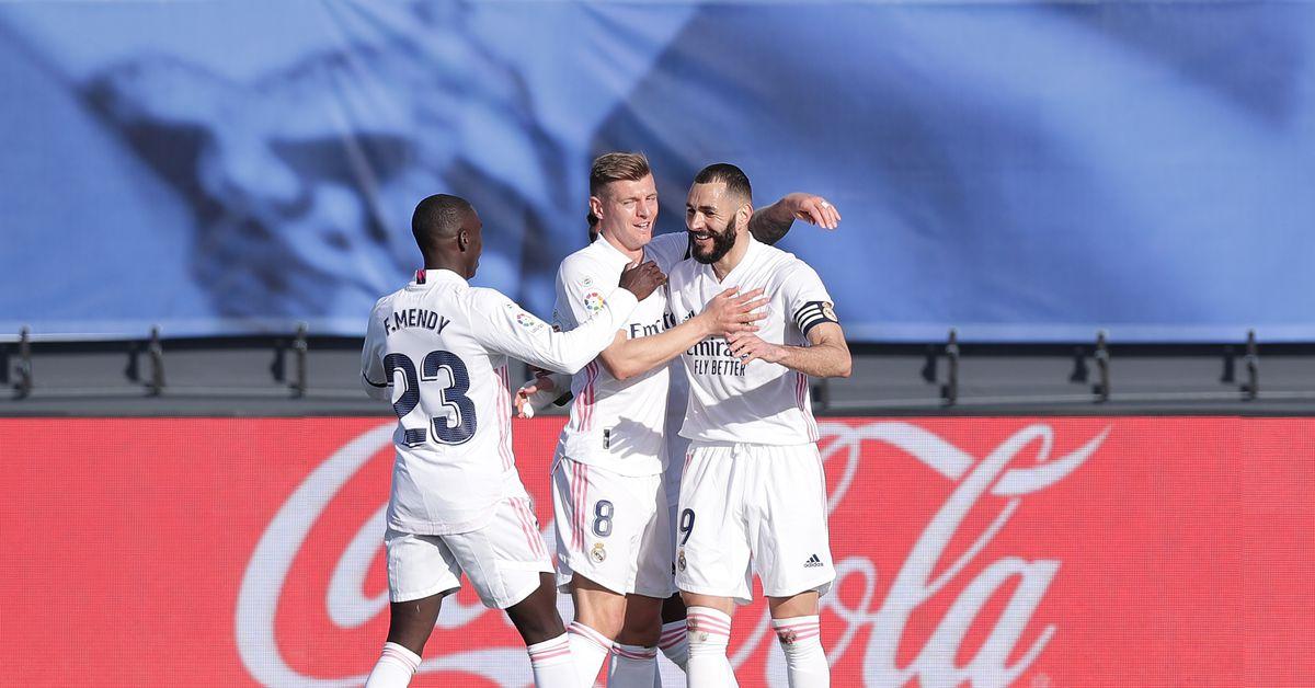 CONFIRMED lineups: Atletico Madrid vs Real Madrid, 2021 La Liga - Managing Madrid