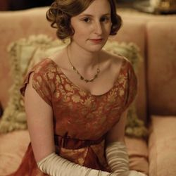 We think we found Lady Edith's color.