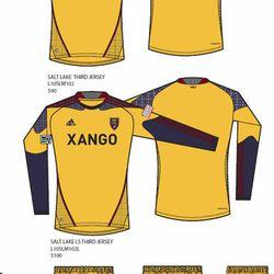 "2010-11 Third Kit ""Victory Gold"""
