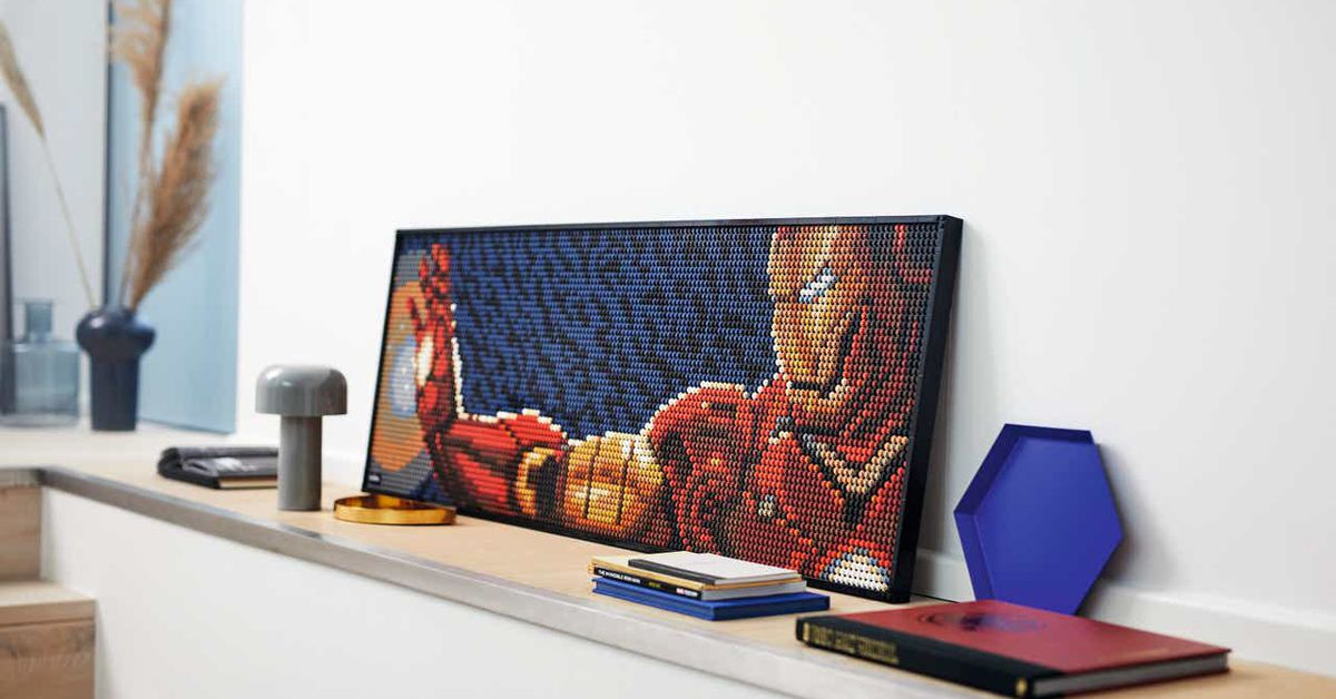 Lego Art posters announced with Star Wars, Iron Man, and more