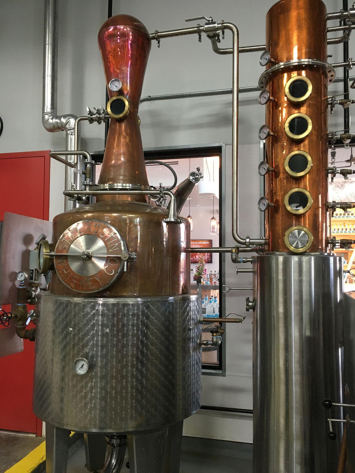 Still's micro-distillery