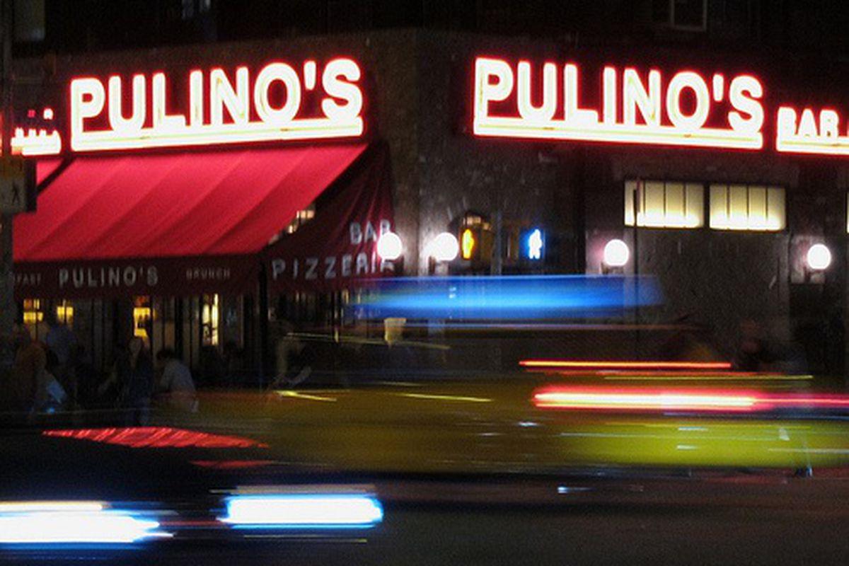 Night Shot of Pulino's