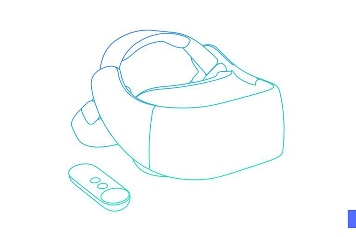Google Daydream Standalone VR Headset