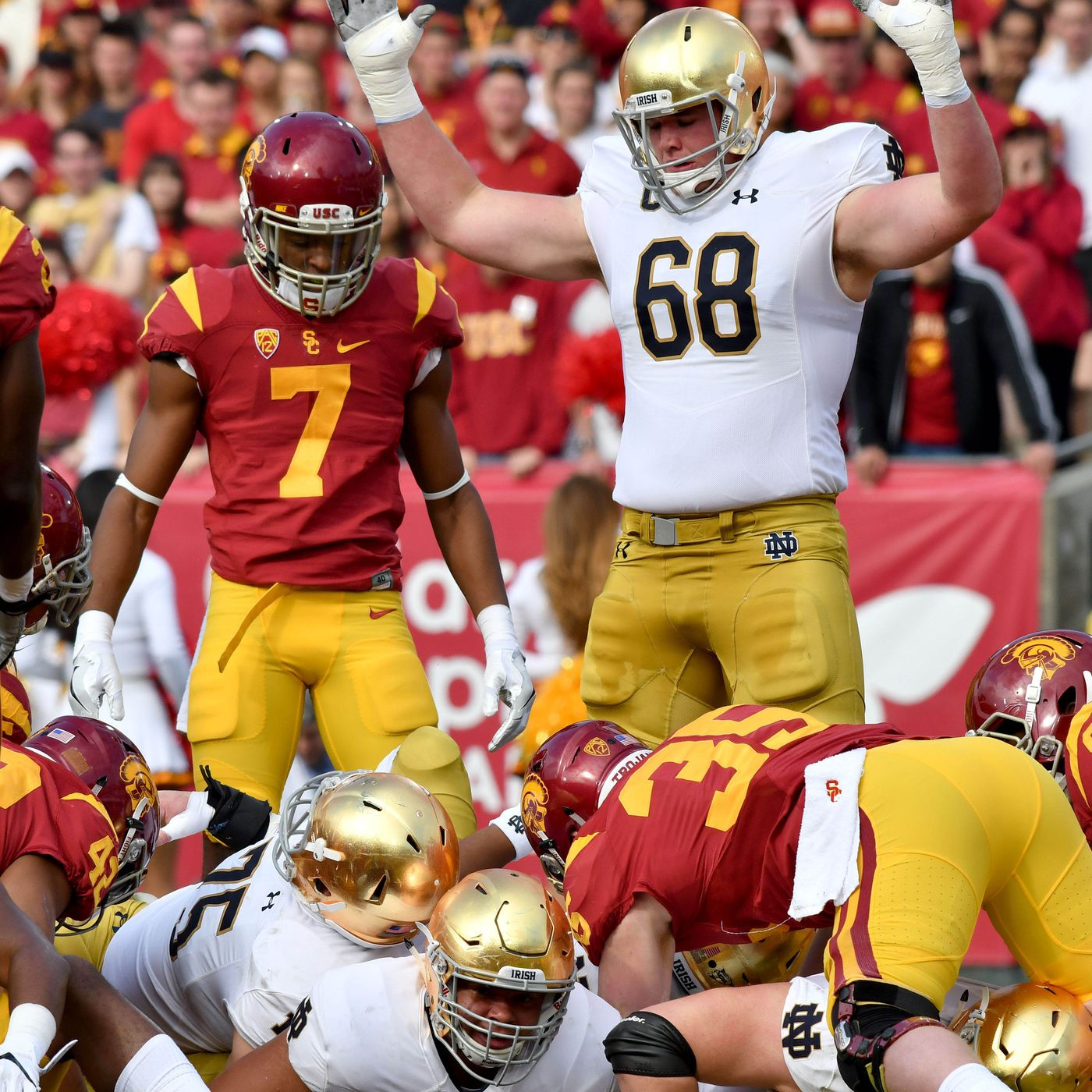 68f483f6a 2018 NFL mock draft  Mike McGlinchey could be an instant starter for the  Patriots