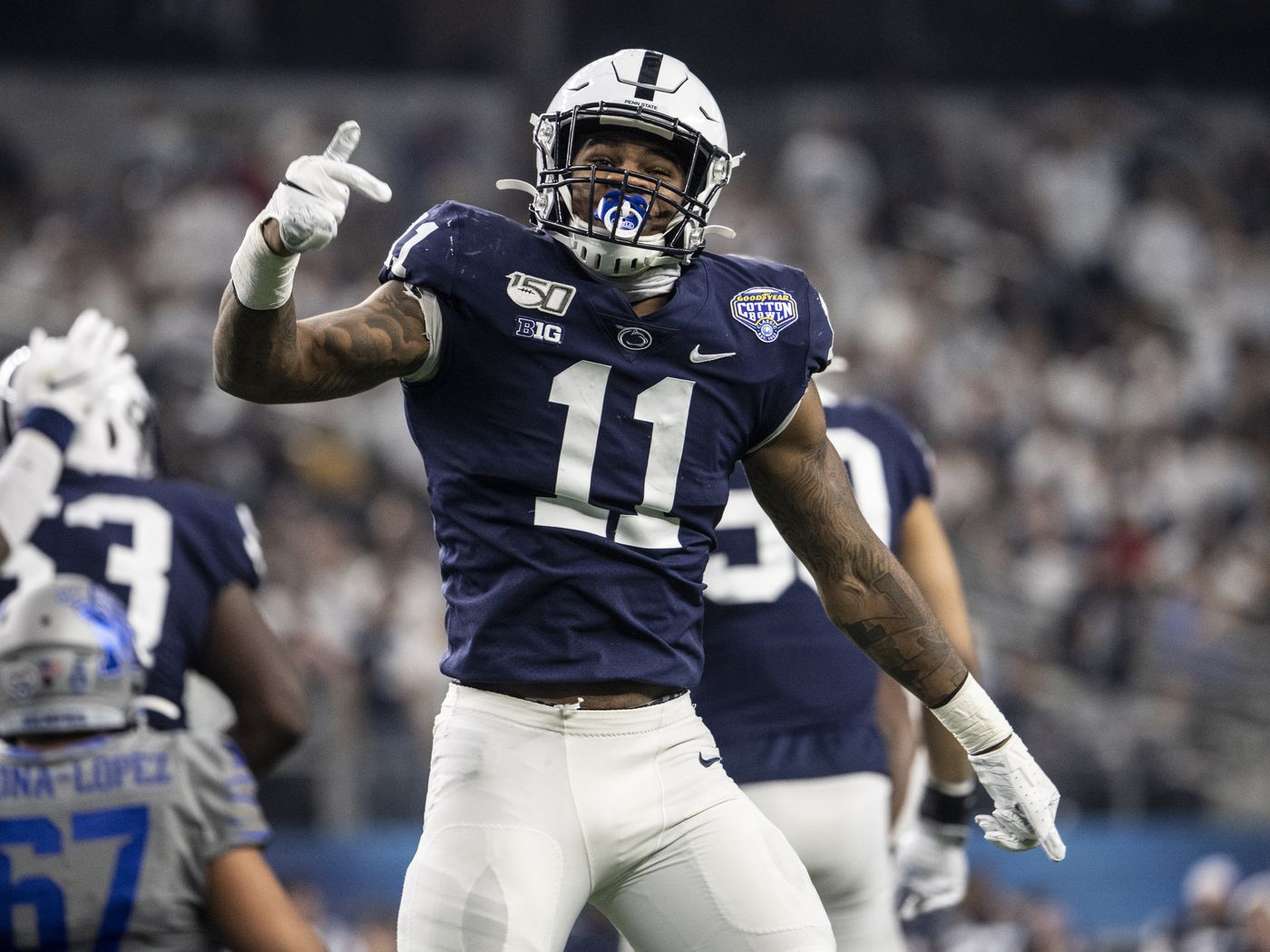 Should The Detroit Lions Draft Micah Parsons With The 7th Overall Pick Pride Of Detroit