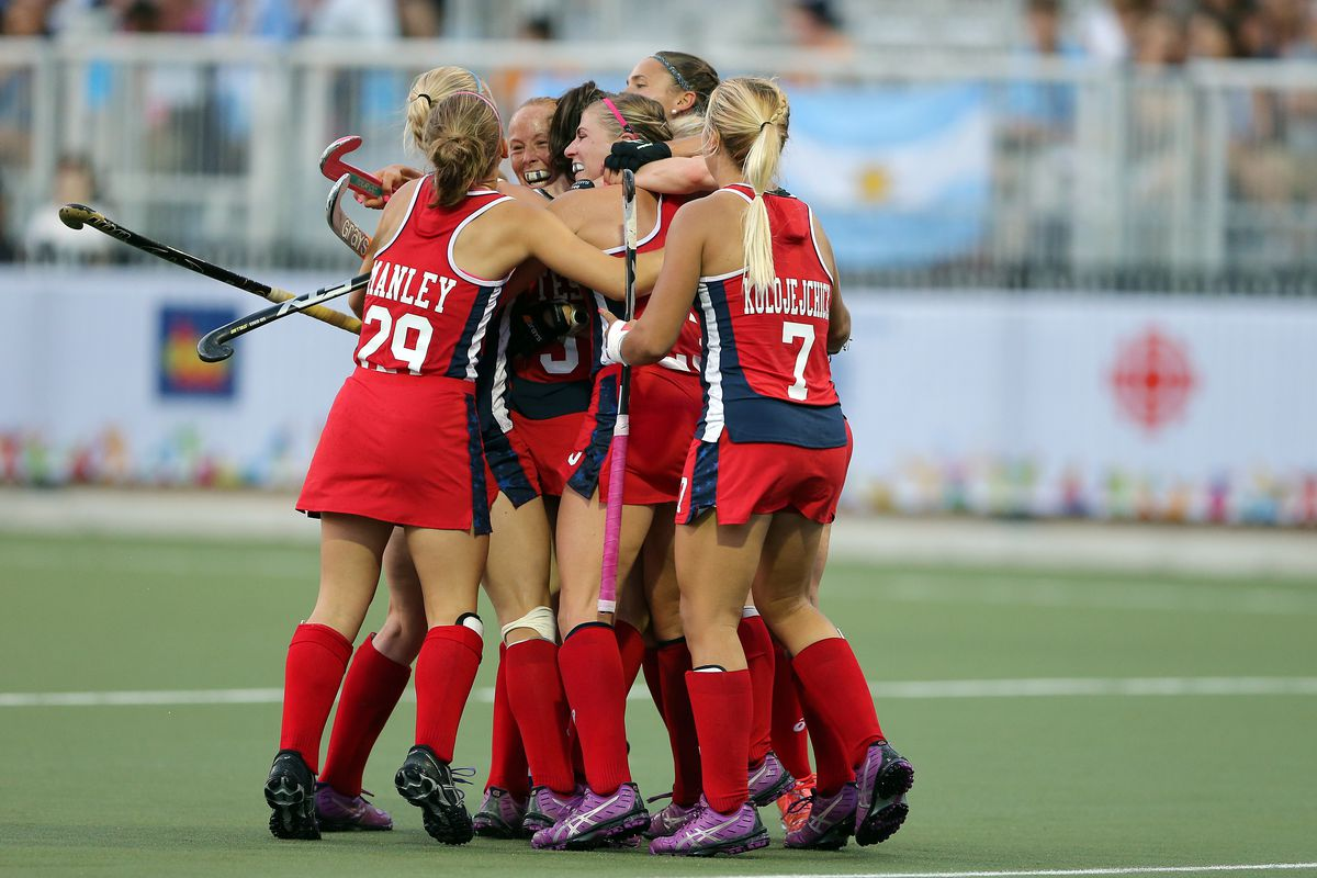 Pan Am Games: Field Hockey-United States vs Argentina