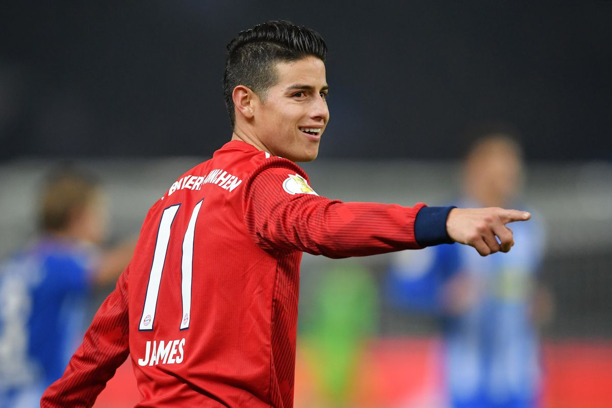 new style 29632 3129b Bayern Munich's James Rodriguez likes to play as himself in ...