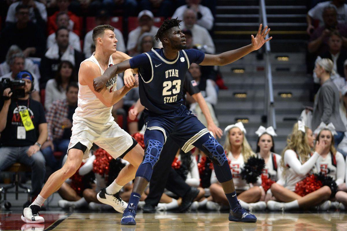 NCAA Basketball: Utah State at San Diego State