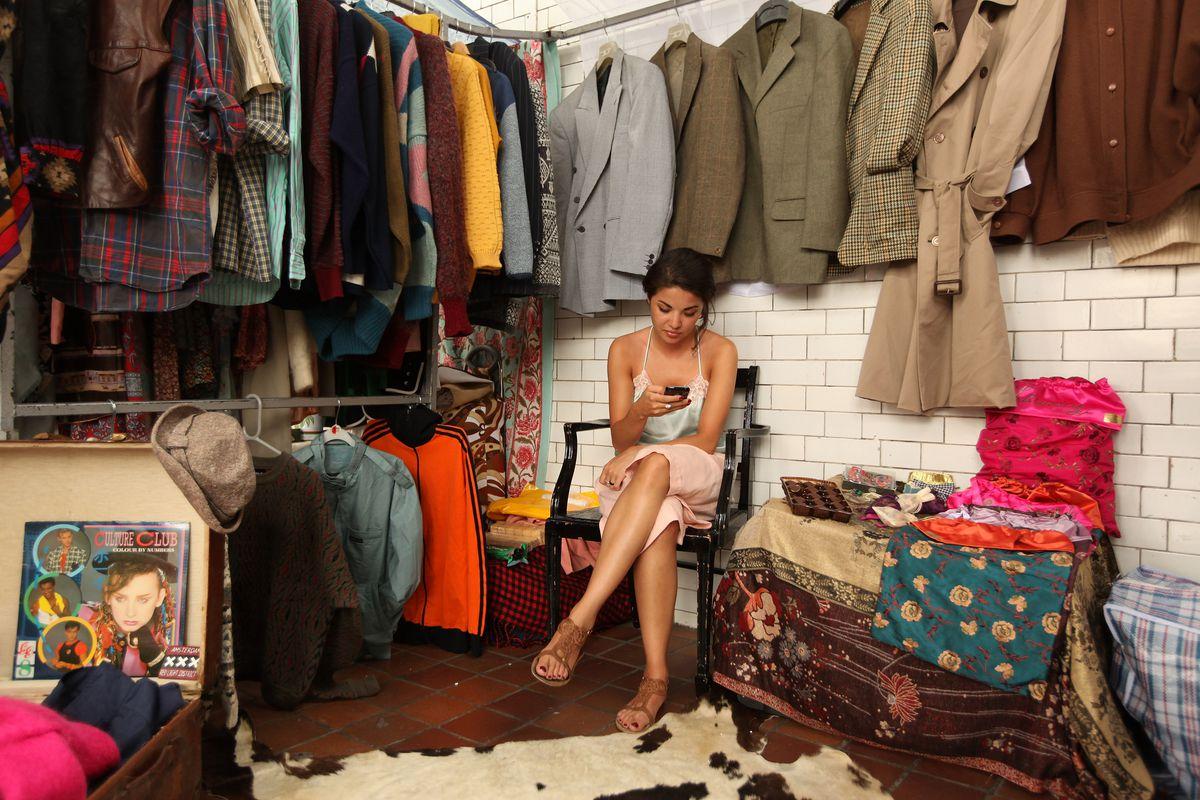 Brick Lane Hosts Vintage Pop-Up Market