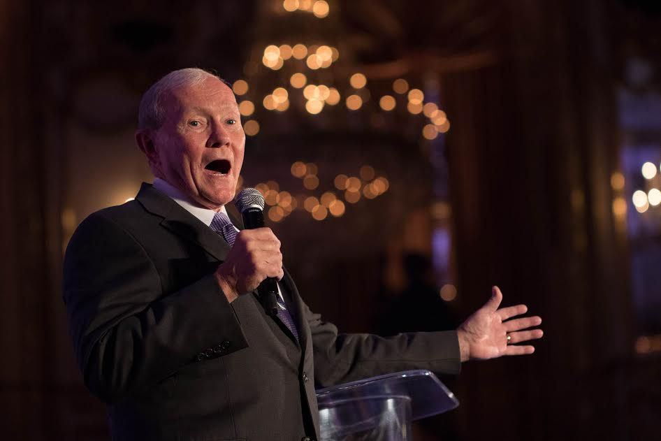 Former Chairman of the Joint Chiefs of Staff Martin Dempsey at Navy SEAL Foundation event | By Danyel Duncan @ Ron Gould Studios, courtesy the foundation