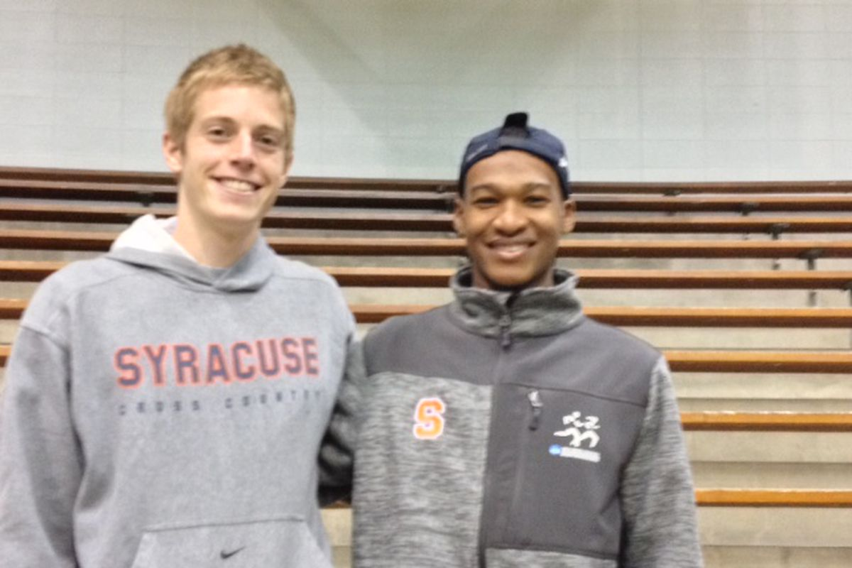 Martin Hehir and Justyn Knight Continue to Lead Syracuse XC