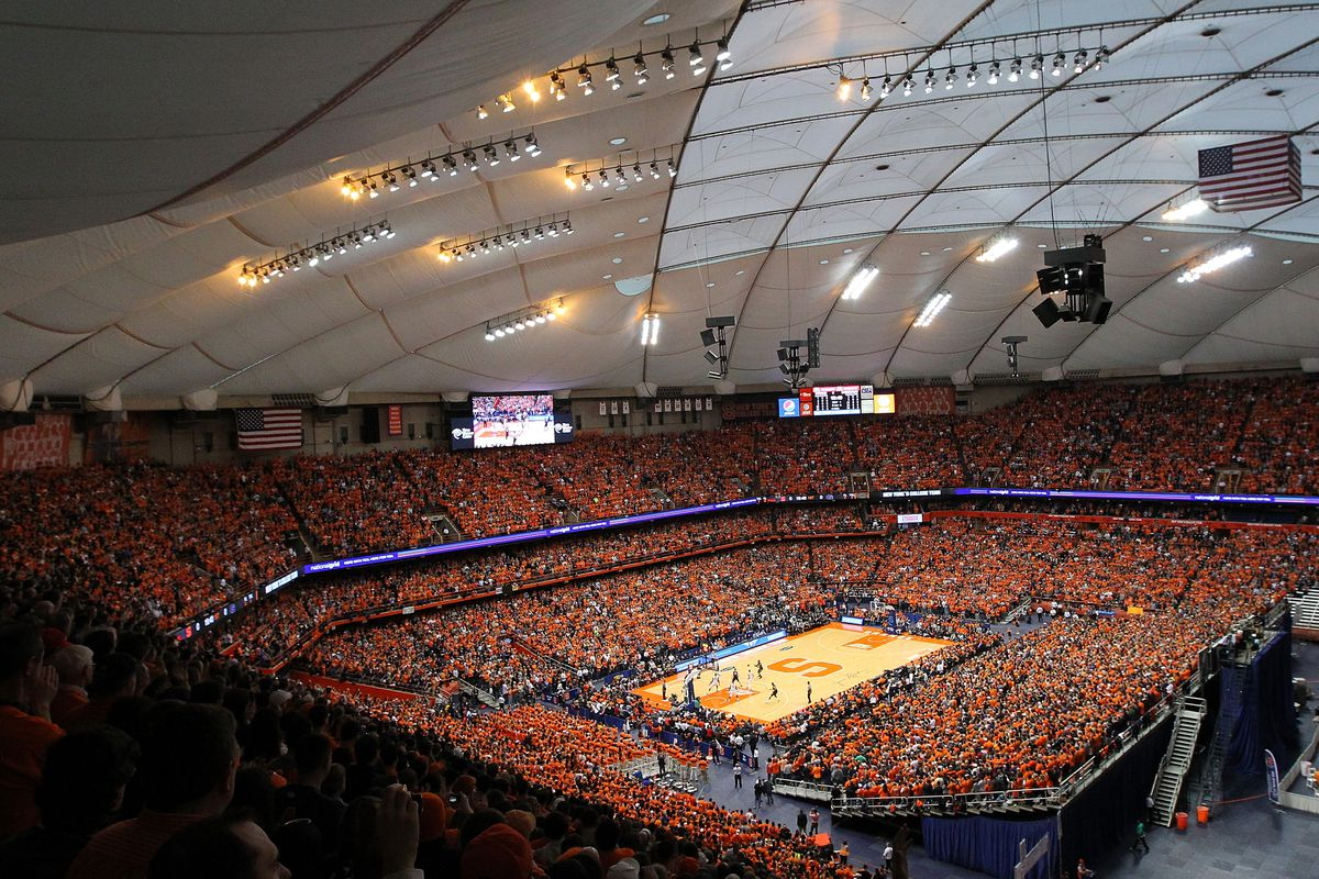 Centre Court Syracuse Considering Moving Carrier Dome Floor