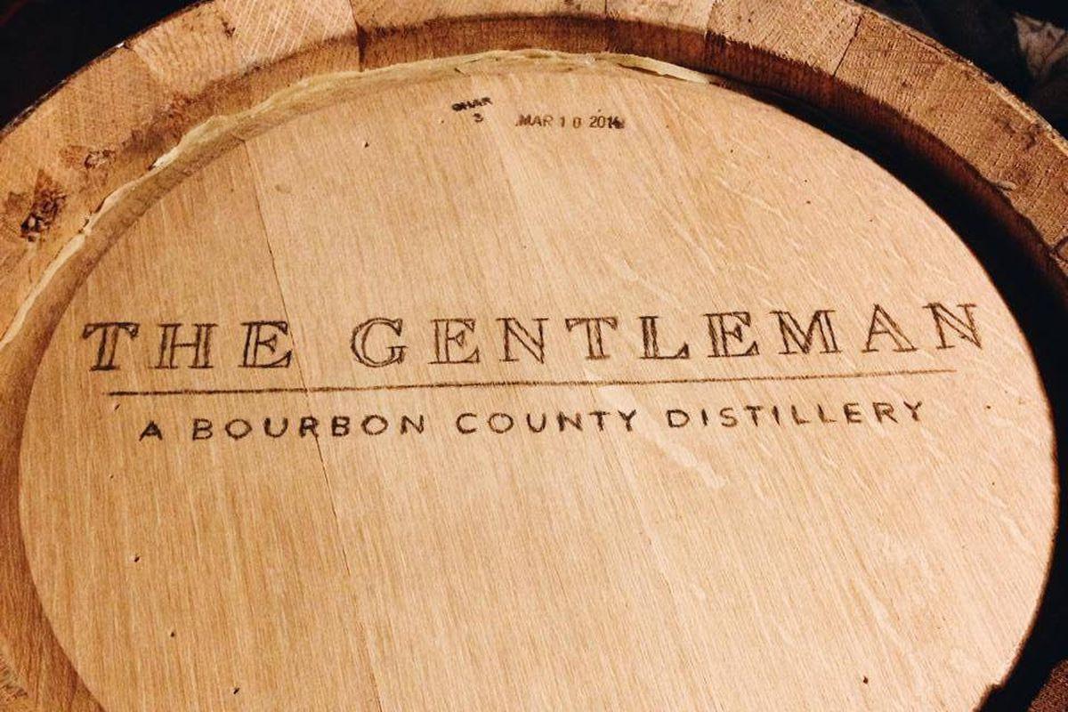 Bourbon actually distilled in Bourbon County.