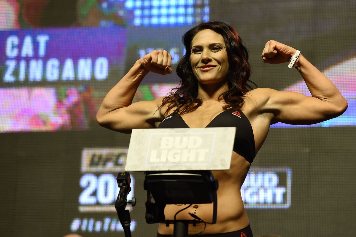 Cat Zingano says 'hell yes' to fighting winner of Cris Cyborg vs. Megan Anderson - Bloody Elbow