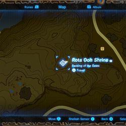 Rota Ooh Shrine - The Legend of Zelda: Breath of the Wild ...