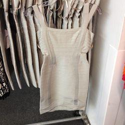 Herve Leger bandage mini dress, $375