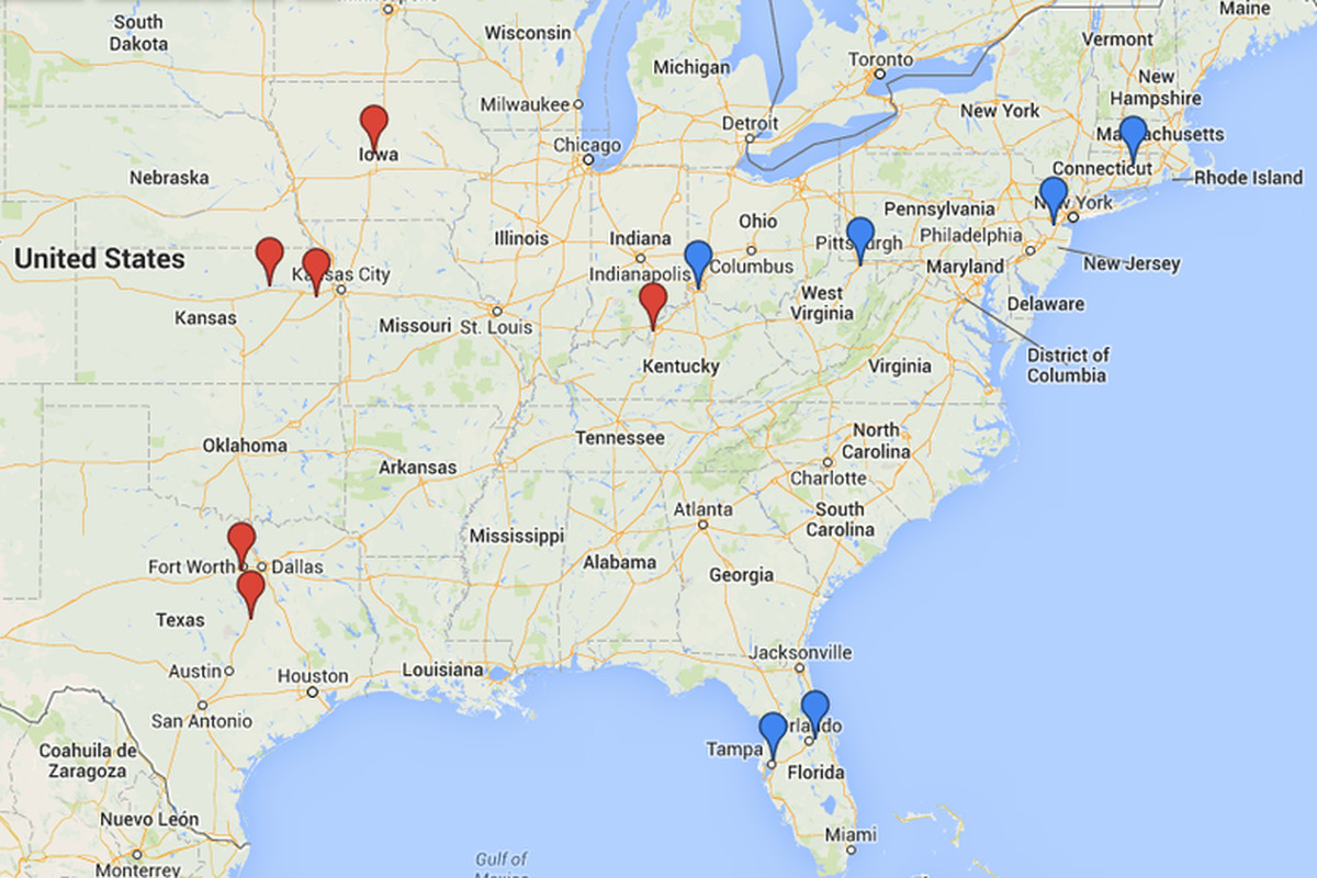 What realignment looks like...in your worst nightmare