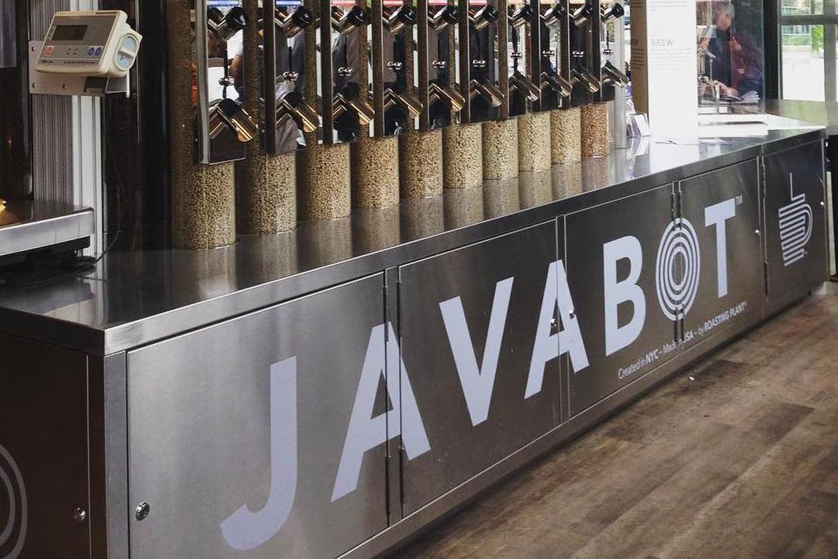 Roasting Plant Coffee will open a coffee shop on Borough High Street in London featuring its Javabot technology