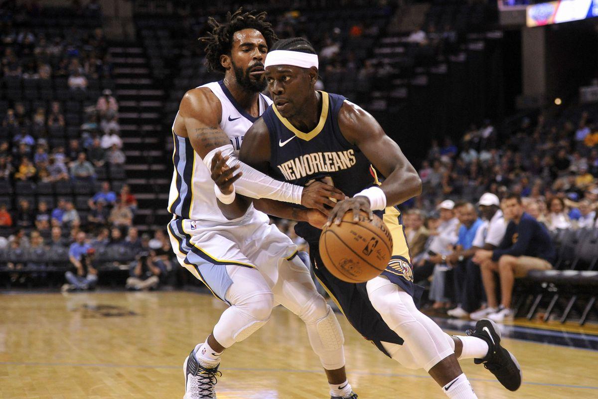 NBA: Preseason-New Orleans Pelicans at Memphis Grizzlies
