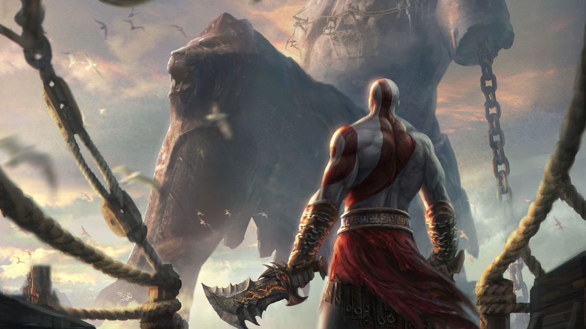 God Of War 4 Logo Wallpaper