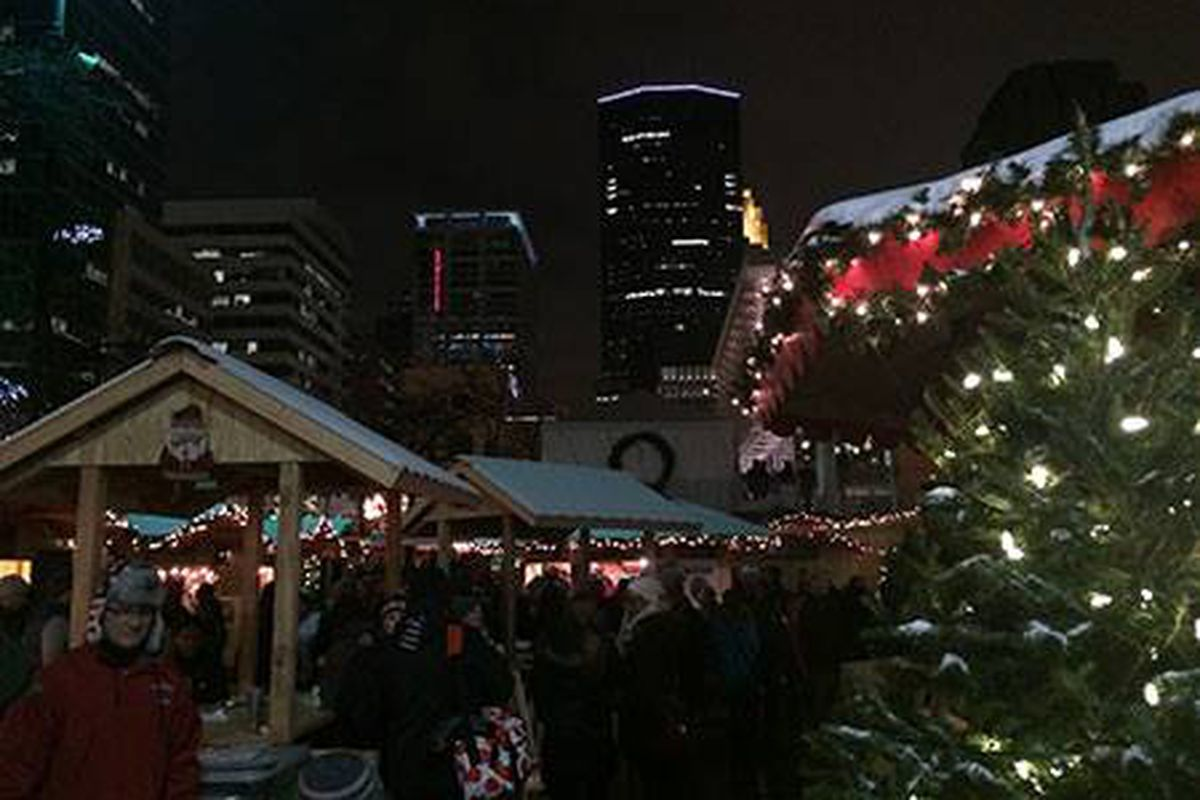 Make a full night of the Holidazzle Market