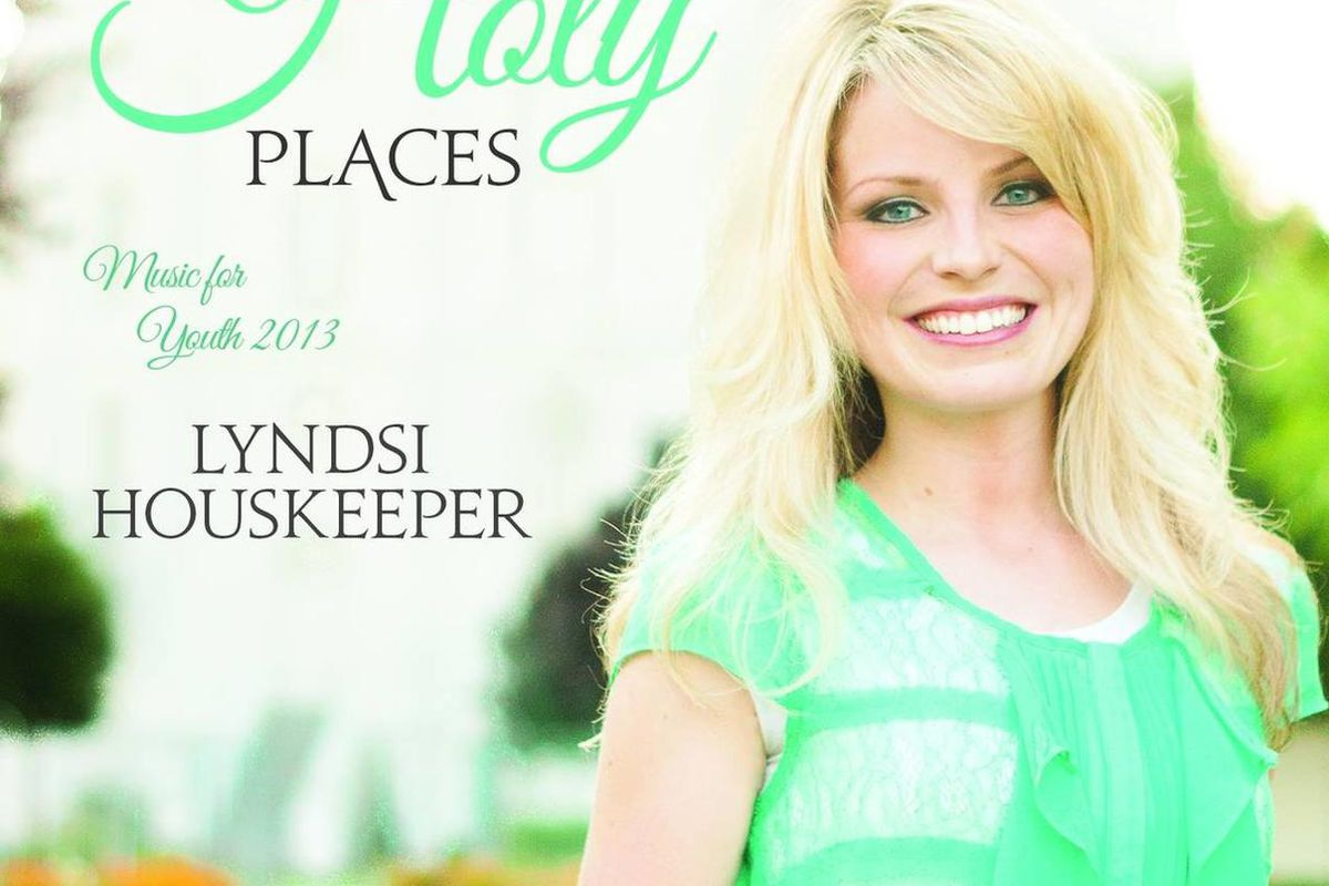 Lyndsi Houskeeper's new CD is music for youth.