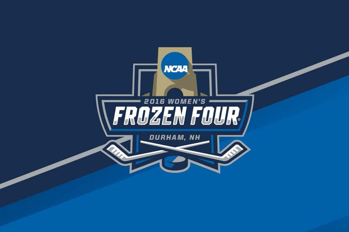 NCAA Women's Frozen Four teams are headed to New England for next weekend's tournament.