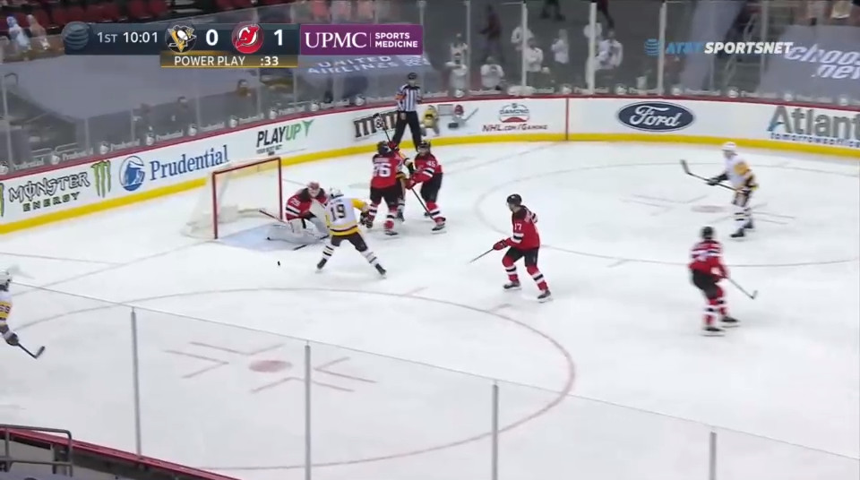 April 9: The Devils did not really defend well. No one was paying attention to Jared McCann on the weakside until it was way too late.  They were punished when an open shot was stopped and a wide open McCann put home a rebound at close range.