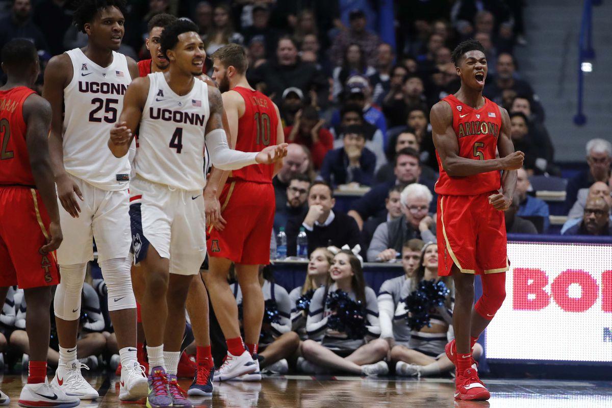 NCAA Basketball: Arizona at Connecticut