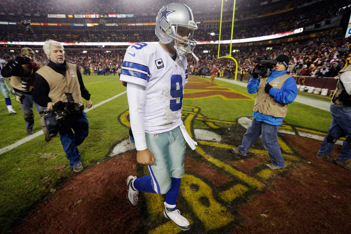 Tony Romo will try to rewrite his December history tonight after losing another important game late in December in Washington last season.