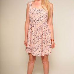 Nameless bird-print dress from Number A, $56