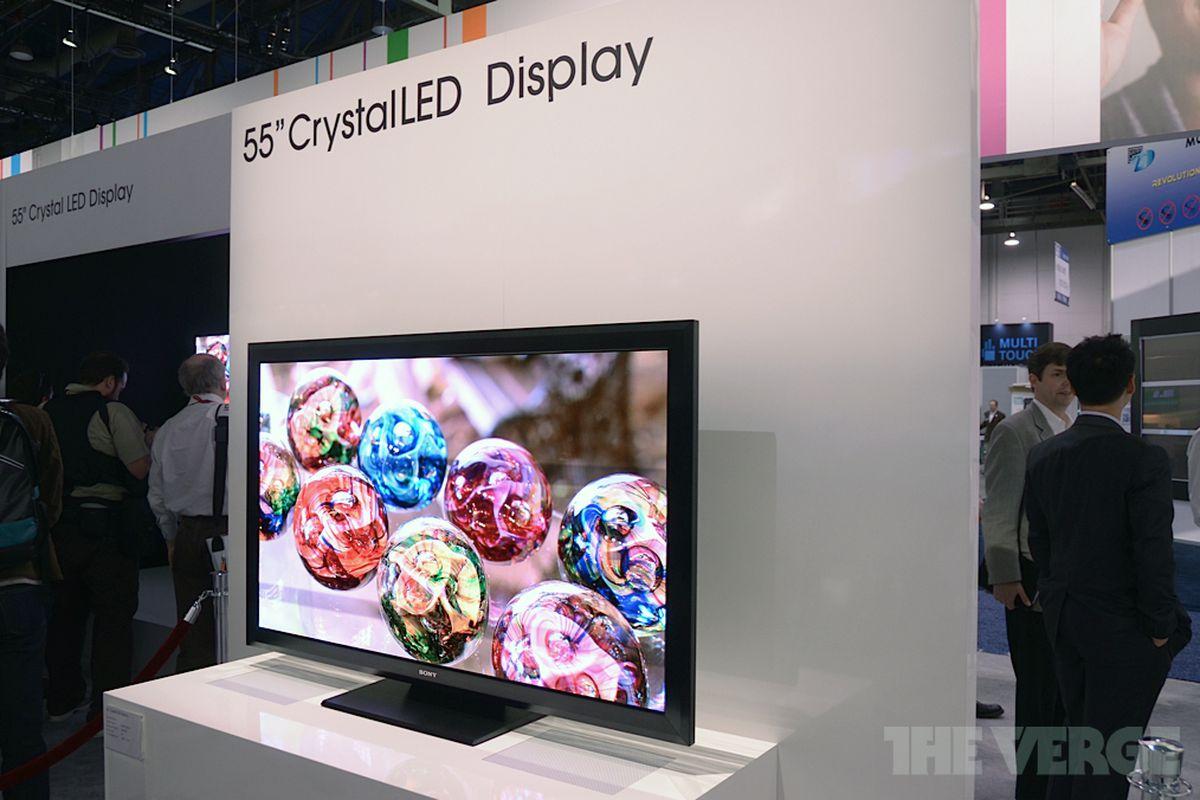 Sony Crystal LED hero