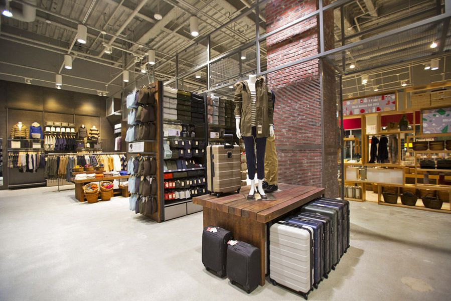 Inside Metro Vancouver's first MUJI store at Metropolis at Metrotown  shopping centre. (Kenneth Chan / Daily Hive)