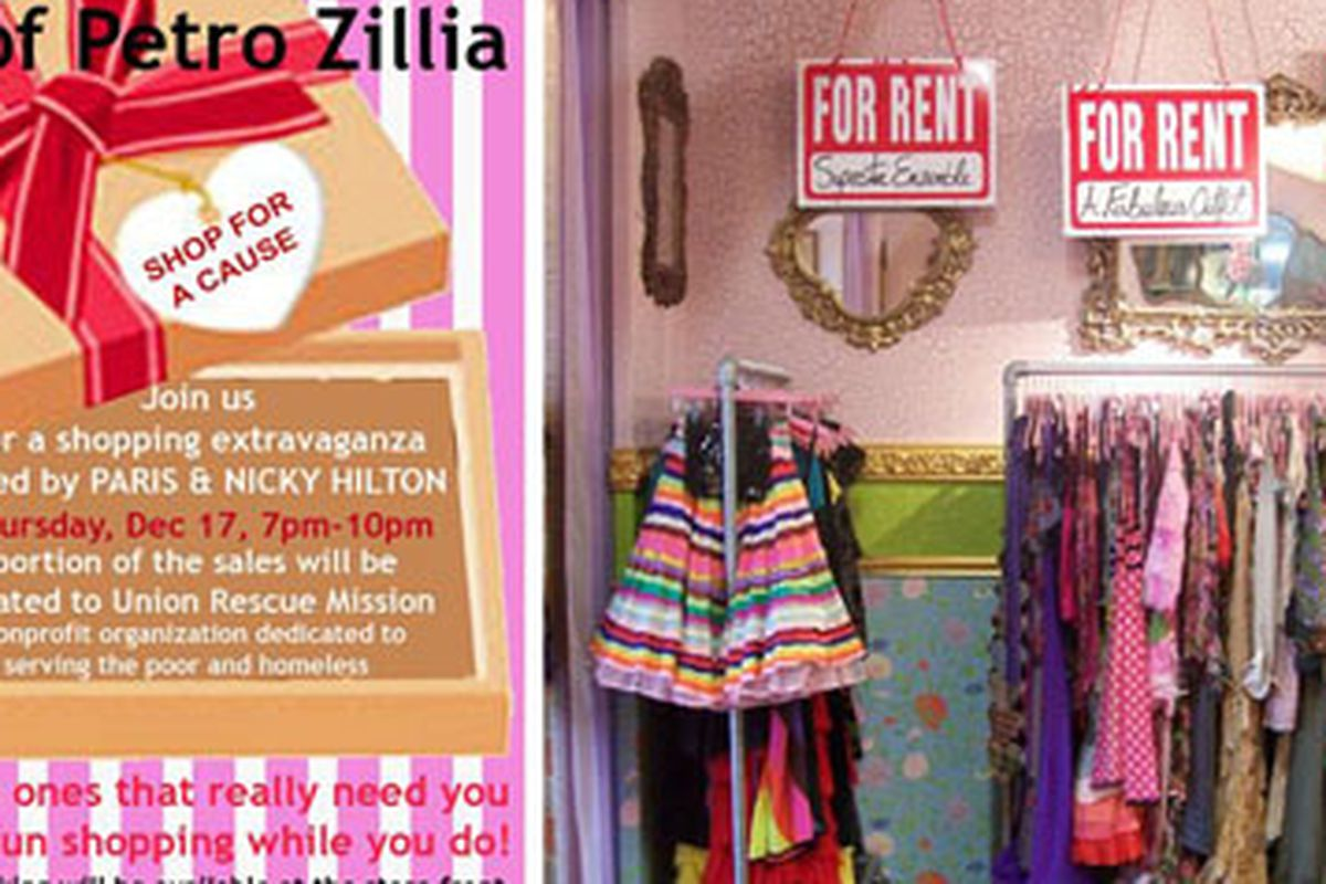 """Since you'll be at House of Petro Zillia tonight, we suggest looking at the gorgeous gowns for rent. Since we've got a contest where you can win a rental, starting next week.  Image courtesy of <a href=""""http://www.petrozillia.com/"""">Petro Zillia</a>"""